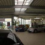 Ausstellungsbereich Honda/Seat Saalfeld
