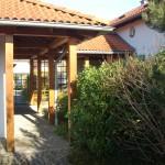 Hauseingang Villa B. Bad Berneck