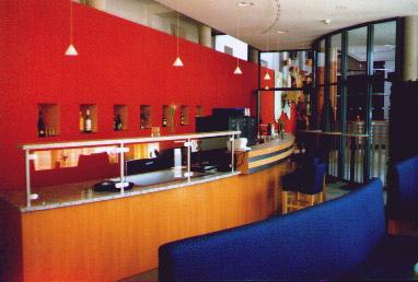 Bar- und Empfangsbereich Hotel Famissimo Bad Mergentheim