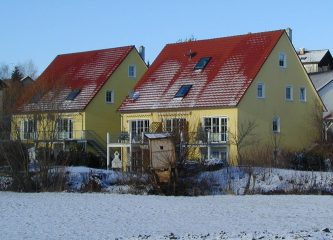 Reihen- und Doppelhausanlage Bayreuth-Destuben