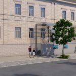 Barrierefreier Zugang Rathaus Bad Berneck